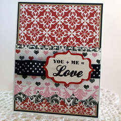 You + Me = Love - My Creative Scrapbook