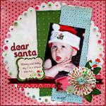 Dear Santa *Scrapbook Daisies*