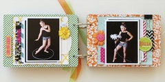 Own the Runway mini album - My Creative Scrapbook