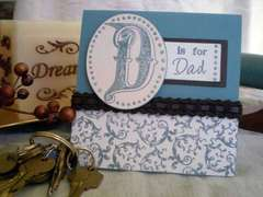 D is for Dad Card