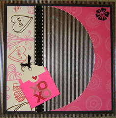 Simply Glamorous Kit club February swap - back