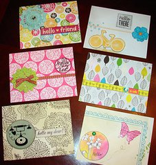 Friend card collection