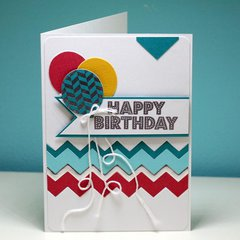 Birthday Chevron