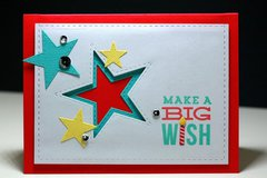 Big Wish Star Pop-up Card