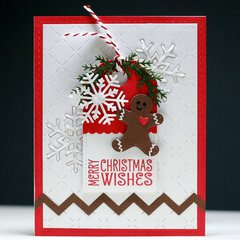 Merry Christmas Wishes Tag