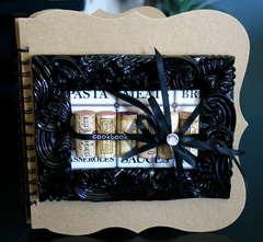 Cooking Minibook - Teresa Collins CHA Winter 2009