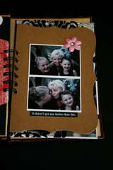 Family Minibook Book Cover Page - Teresa Collins New Family Matters Collection
