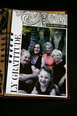 Family Minibook Gratitude Page - Teresa Collins New Family Matters Collection