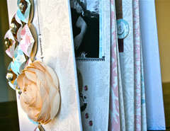 Cherish Memory Book Binder Cover Detail