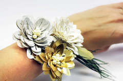 Flower Corsage Close Up