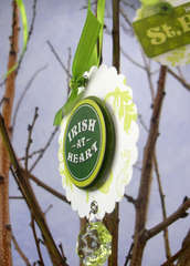 St. Patrick's Day Tree Ornament 2