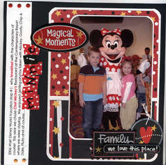 Creative Imaginations Magic Moments Layout