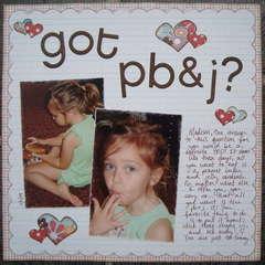 Got PB&J?