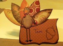 Thanksgiving Dinner Placecards