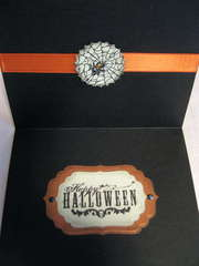 Inside Bewitching Halloween card