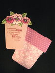 Flower Pot Birthday card insert