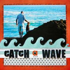 Catch A Wave *Teresa Collins Boardwalk*