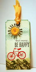 Be Happy Tag
