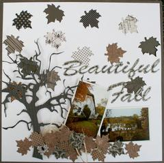 Beautiful Fall **Carta Bella Paper dt**