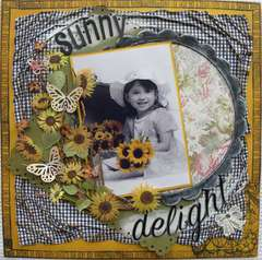Sunny Delight ******SCRAPPY CHIC CAFE******