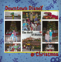 Downtown Disney @ Christmas