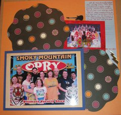 Smoky Mountain Opry Family - Week 23/Project 52 and #23/68 Volume Scrapbooking