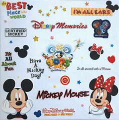 Disney Album Title Page