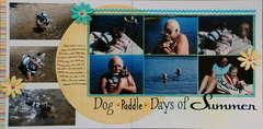 Dog *Paddle* Days of Summer