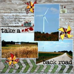 take a back road