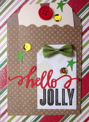 hello jolly card