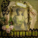 Vintage Girl ~~Scraps of Darkness~~