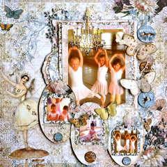 Prima Ballerinas  ~~Scraps of Elegance~~