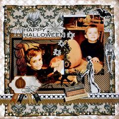 Happy Halloween  ~~Scraps Of Darkness~~