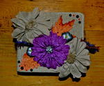 Halloween Mini Album Cover  ~~Scraps Of Darkness~~ Creativity Kit