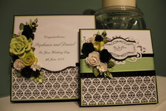Wedding Card with matching Box
