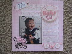 Why I Scrapbook (PINK CHALLENGE)