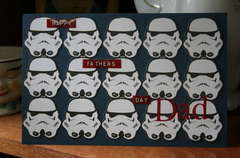 Storm Troopers F. Day card