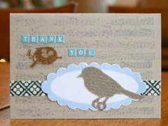 bird thank you