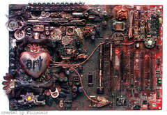 Art - altered mainboard