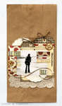 By the sea - paper bag layout