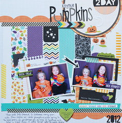 Little Pumpkin by Becky Williams featuring the Trick or Treat Collection from Bella Blvd