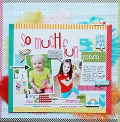 So Much Fun by Becky Williams featuring the Playdate Collection from Bella Blvd