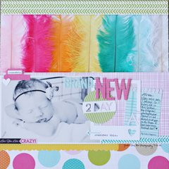 New 2 Day by Brooke Stewart featuring the Snapshots Collection from Bella Blvd