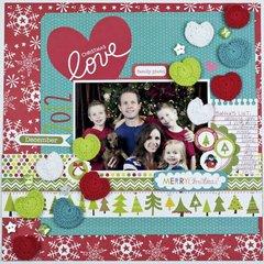"""Christmas Love"", by Tiffany Hood."