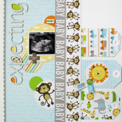 Expecting by Kathy Martin featuring Bella Blvd We're Expecting and Baby Boy