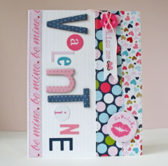 Valentine by Kathy Martin featuring Kiss Me from Bella Blvd
