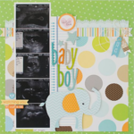 Baby Boy by Kim Arnold featuring Bella Blvd Baby Collection