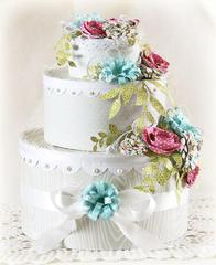 Wedding Cake Decor by Laurie Schmidlin