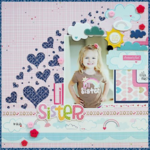 Lil Sister by Megan Klauer featuring Kiss Me from Bella Blvd