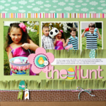 The Hunt by Nancy Damiano featuring Bella Blvd Spring Flings & Easter Things Collection